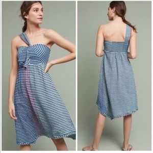 Anthropologie Maeve Sz 6 plaid dress